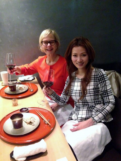 yumiko with guest from bordeaux